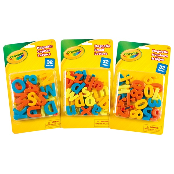 Crayola 32 Magnetic Letters Numbers - Assortment
