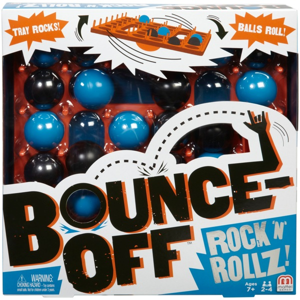 Bounce Off Rock N Rollz Game Board Games At Smyths
