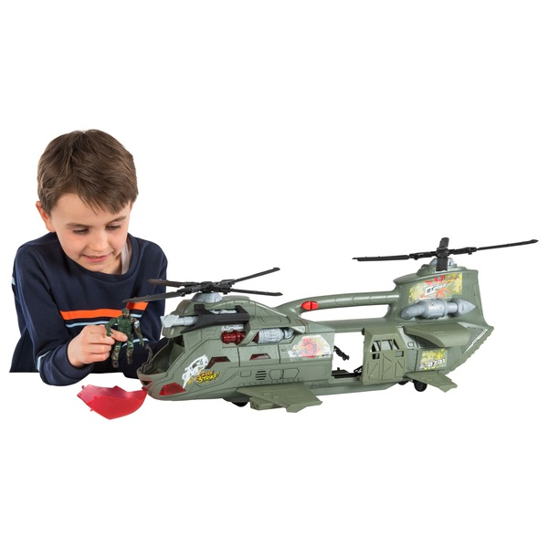 The Corps Elite Rain Fire Helicopter