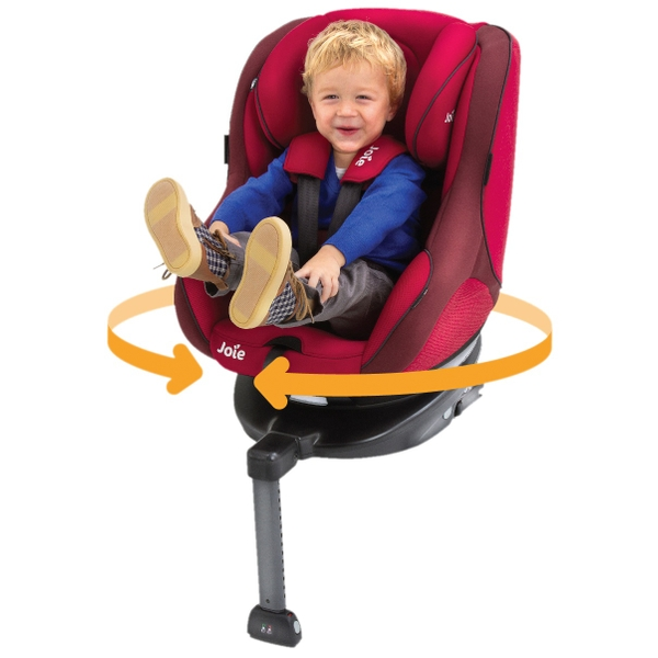 Joie Spin 360 Group 0-1 Car Seat Merlot with ISOFIX Base