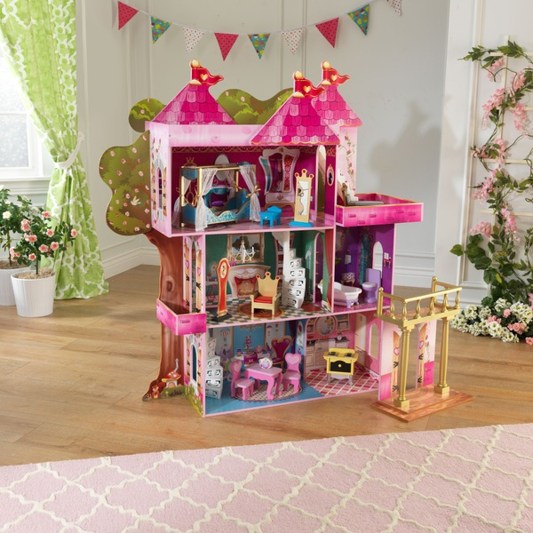 storybook mansion doll house