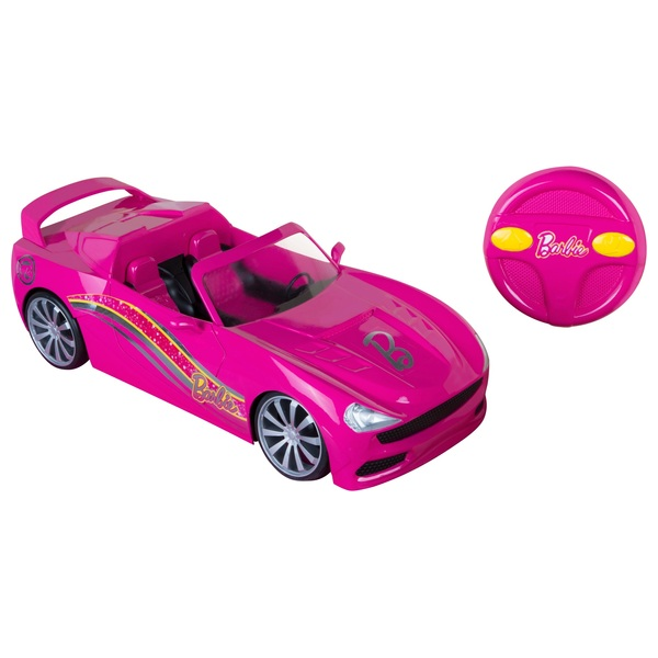 Barbie convertible radio controlled car barbie uk for Motorized barbie convertible car