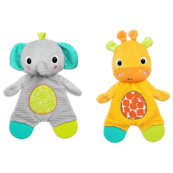 Bright Starts Snuggle and Teethe Toy Assortment
