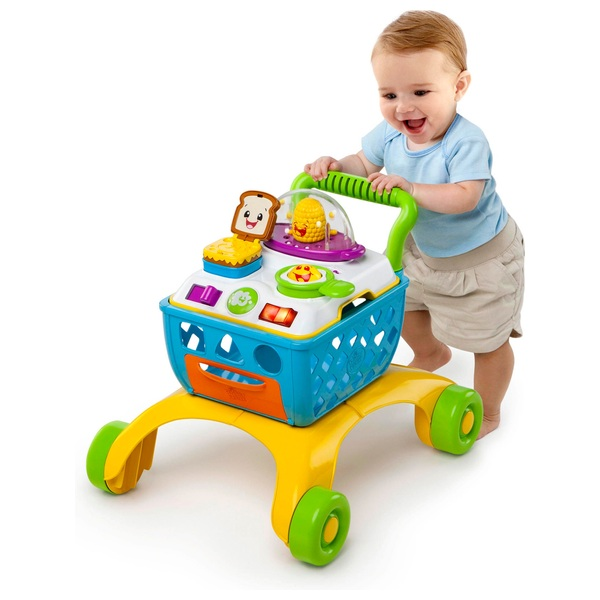 Baby Gear 2 In 1 First Step Baby Activity Push Walker Musical Play Stroller Sit & Play Uk Baby