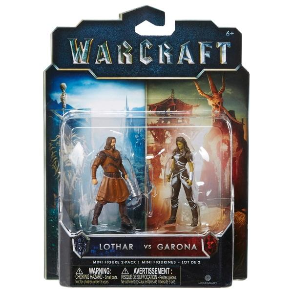 Warcraft Mini Figure 2 Pack Garona & Lothar Civilian