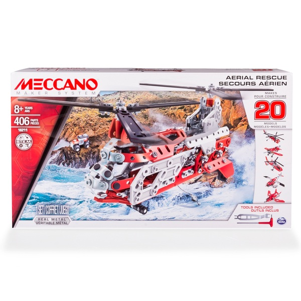 Meccano 20 Model Set Aerial Rescue