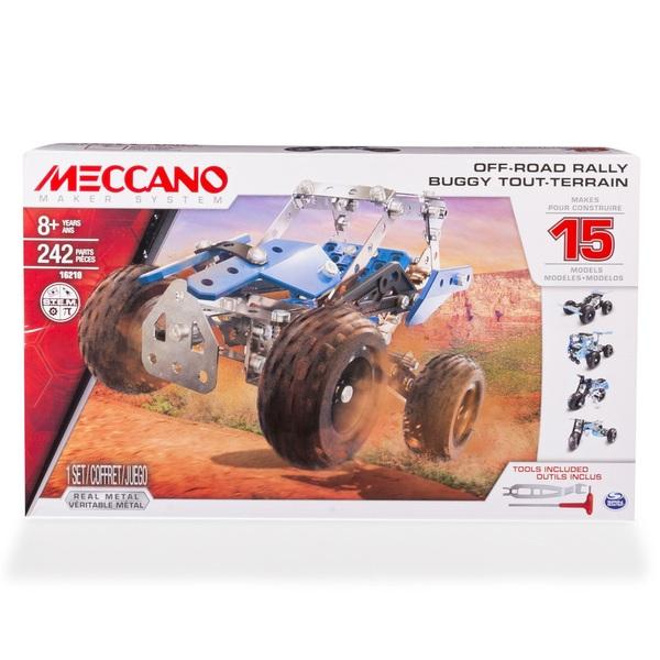 Meccano 15 Model Off-Road Rally Set