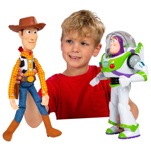 Toy Story Buzz and Woody Talking Action Figure