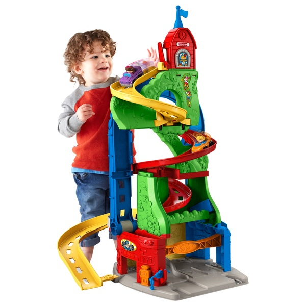 Little People Sit N Stand Skyway Playset Fisher Price Uk