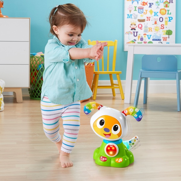 Fisher-Price Bright Beats Dance and Move Beat BowWow