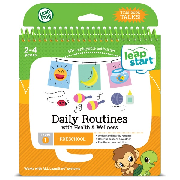 LeapFrog LeapStart Preschool Activity Book: Daily Routines and Health & Wel