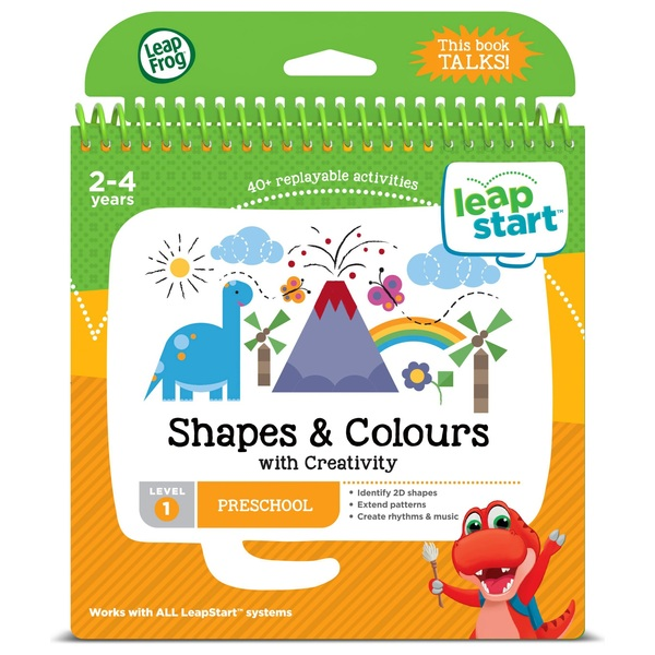 LeapFrog LeapStart Preschool Activity Book: Shapes, Colours & Creative Expr
