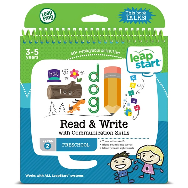 LeapFrog LeapStart Preschool Activity Book: Read & Write and Communication