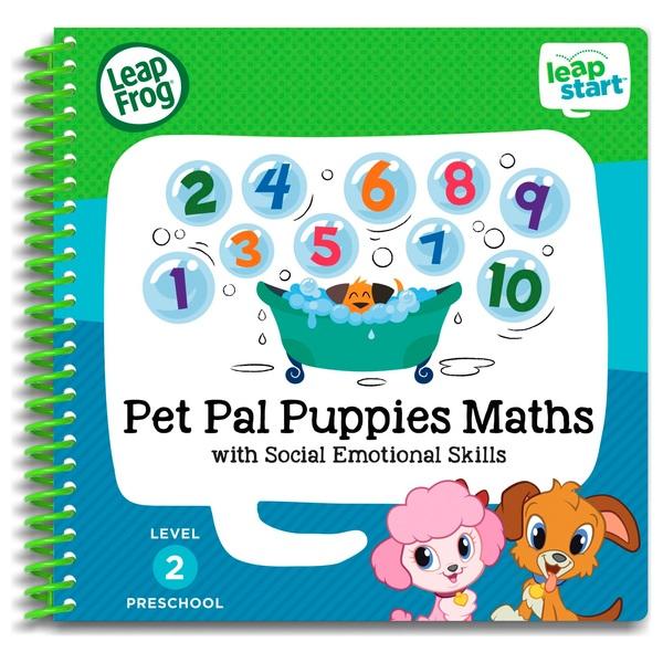 LeapFrog LeapStart Preschool Activity Book: Pet Pal Puppies Maths