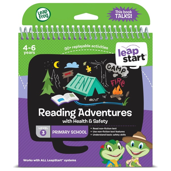 LeapFrog LeapStart Preschool Activity Book: Reading Adventures and Health &