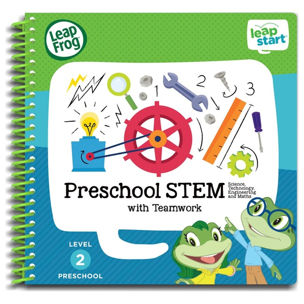 LeapFrog LeapStart Preschool Activity Book: STEM and Teamwork