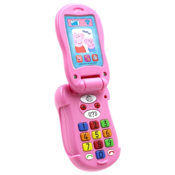 Peppa Pig's Flip and Learn Phone