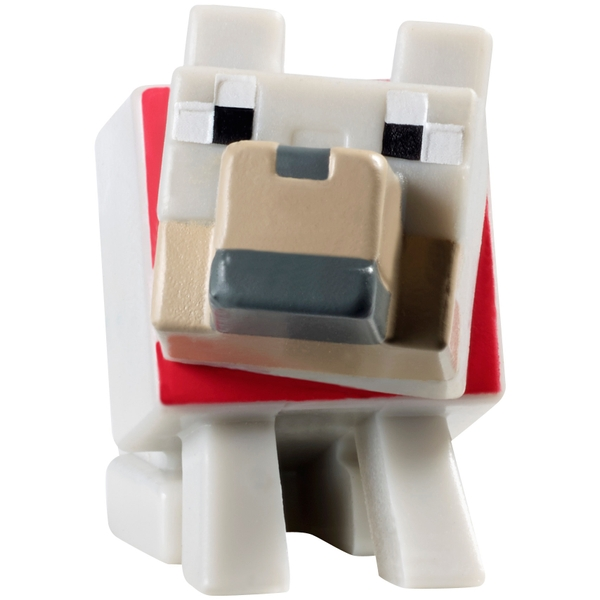 Minecraft Tamed Wolf 15cm Figure
