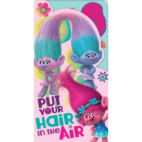 Trolls Age 6 Birthday Card