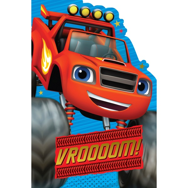 Blaze and the Monster Machines Card
