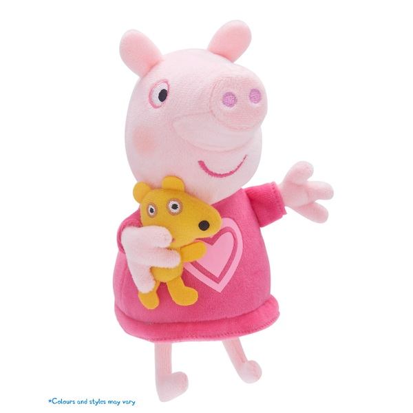 Peppa Pig Talking Bedtime Plush - Assortment