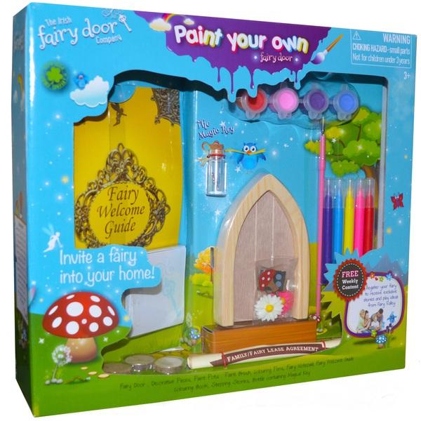 Paint your own fairy door fairies ireland for Irish fairy door uk