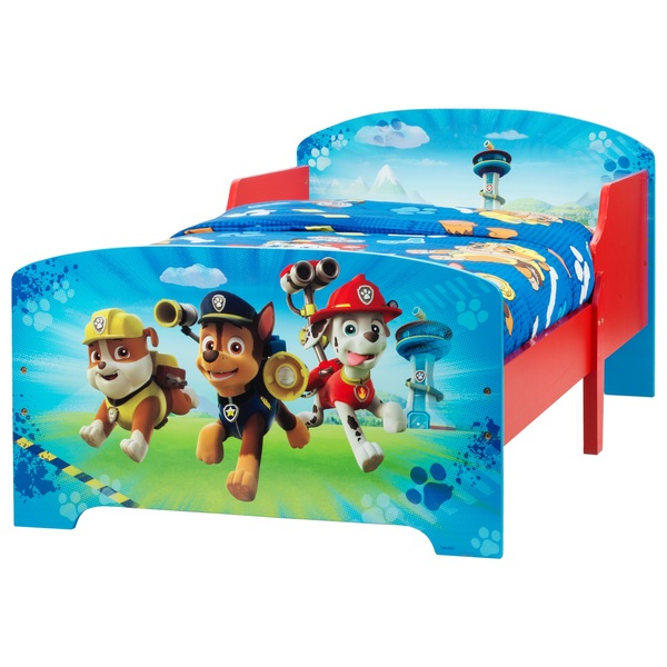 Paw Patrol Wooden Toddler Bed