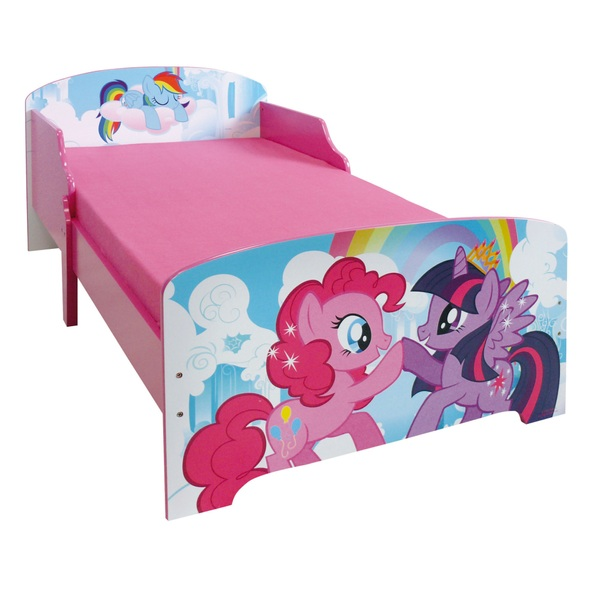 My Little Pony Wooden Toddler Bed - Toddler Beds UK
