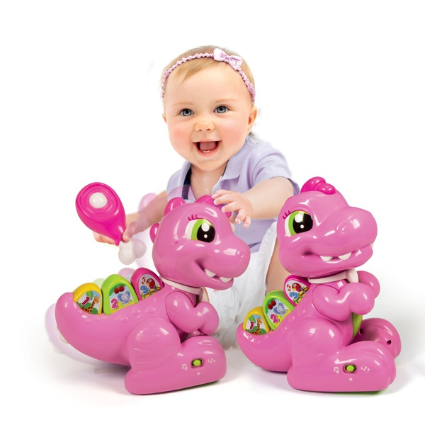 Baby Clementoni – Pink Baby T-Rex