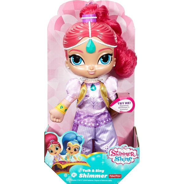 Shimmer and Shine Talk and Sing Shimmer Doll