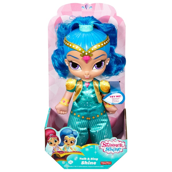 Shimmer and Shine Talk and Sing Shine Doll