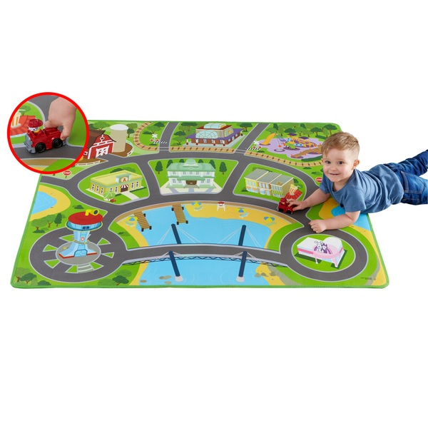 PAW Patrol Mega Mat with two vehicles