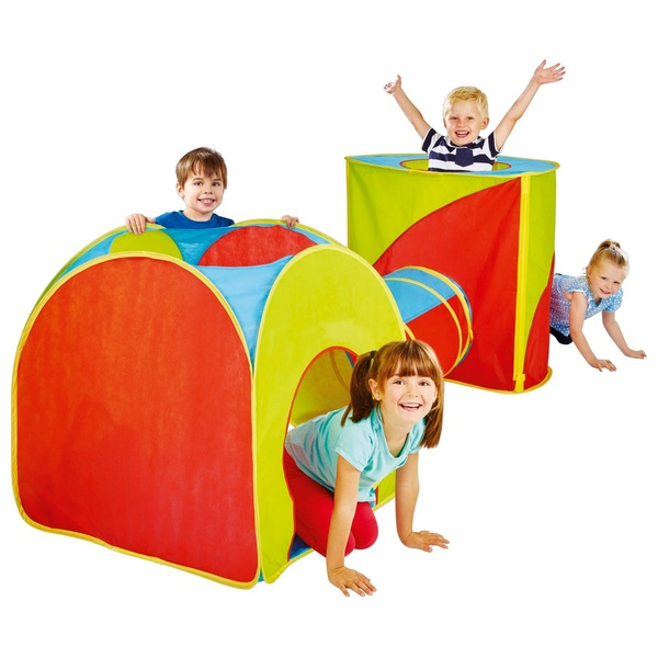 Kid Active Pop-Up Combo Playset  sc 1 st  Smyths Toys & Kid Active Pop-Up Combo Playset - Play Houses u0026 Tents UK
