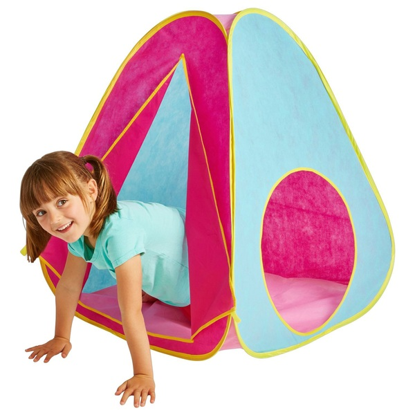 Kid Active Pink Pop-Up Play Tent  sc 1 st  Smyths Toys & Kid Active Pink Pop-Up Play Tent - Play Houses u0026 Tents UK