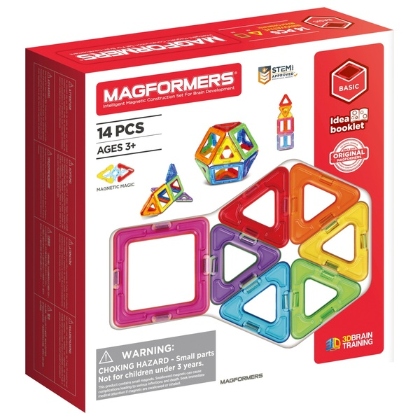 Magformers 14 Piece Construction Set