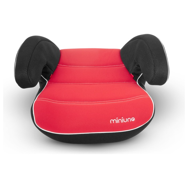 Mini-Uno Deluxe Group 3 Car Booster Seat Red