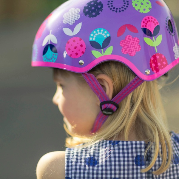 Micro Safety Helmet Floral Dot