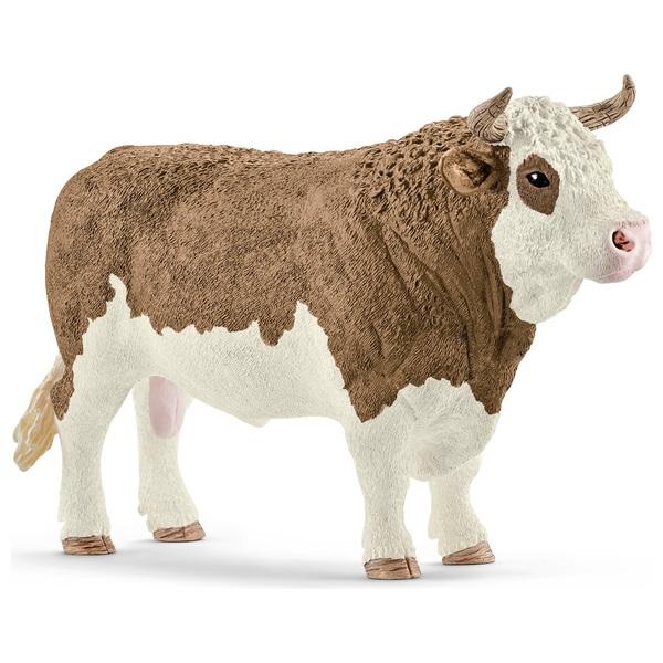 Schleich Simmental Bull Figure