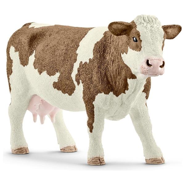 Schleich Simmental Cow Figure