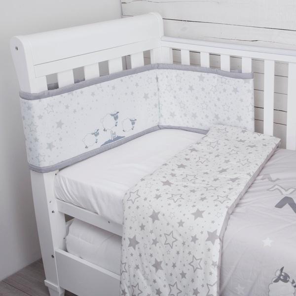 CuddleCo Comfi Dreams 4 Piece Bedding Set Sleepy Sheep