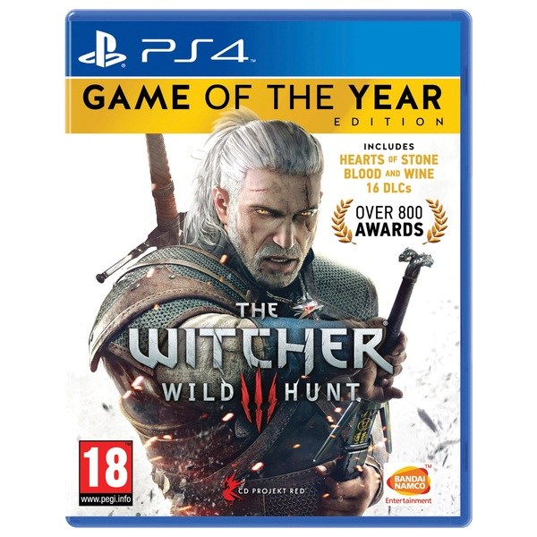 The Witcher 3: GOTY PS4