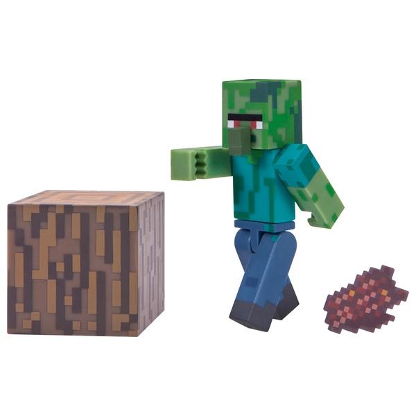 Minecraft 7cm Zombie Villager Figure Pack Minecraft