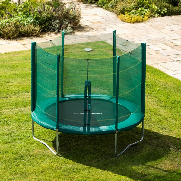 8-Feet TRAMPOLINE ENCLOSURE Durable Support Frame