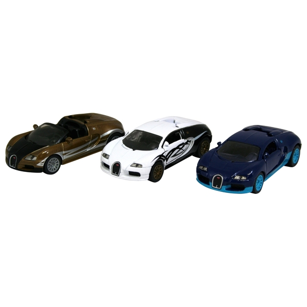 Siku Bugatti 3 Pack