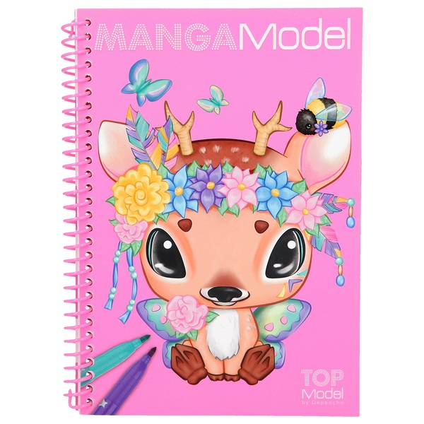 TOPModel MANGAModel Pocket Colouring Book