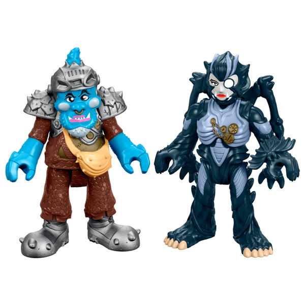 Fisher-Price Imaginext Power Rangers Squat and Baboo 2 Pack