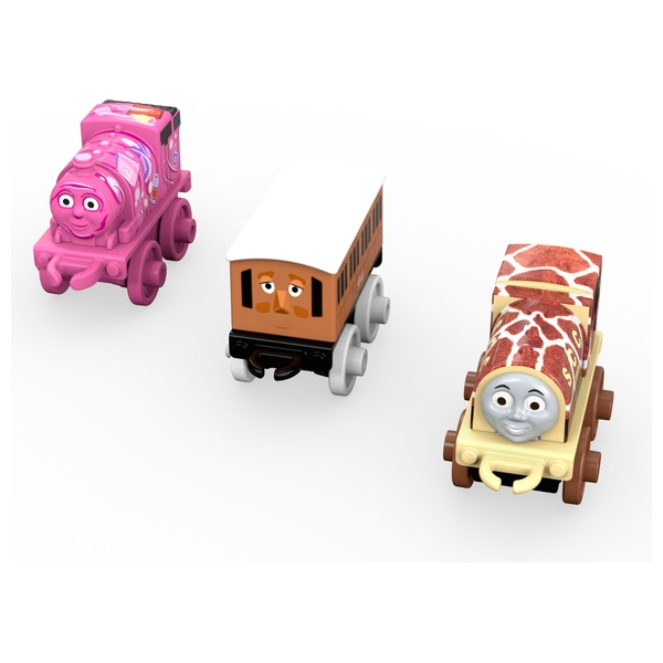 Thomas & Friends Minis Toy Engine 3 Pack Assortment