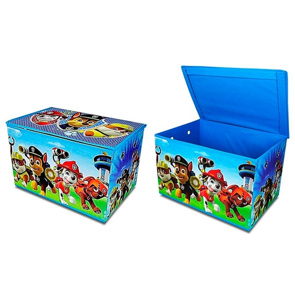 Fabric Toy Box Paw Patrol