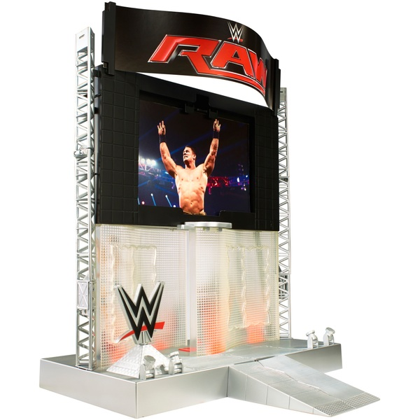 Wwe Electronic Ultimate Entrance Stage Play Set Wwe