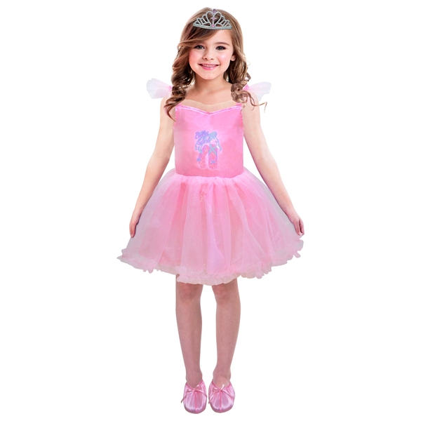 97f5989a1 Ballerina Costume with Shoes and Mini Tiara Clip - Dress Up   Make ...